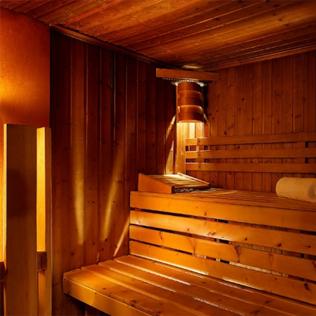 Sauna du Méridien hôtel